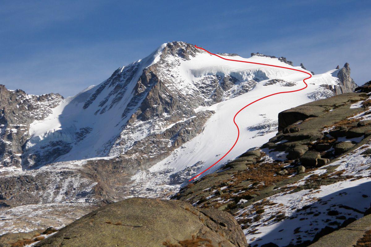 Вершина Гран Парадизо  маленькая жемчужина Валле-дАоста.